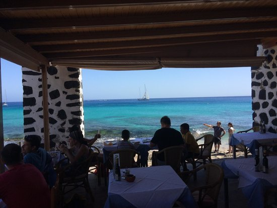 La Laja : View from our table