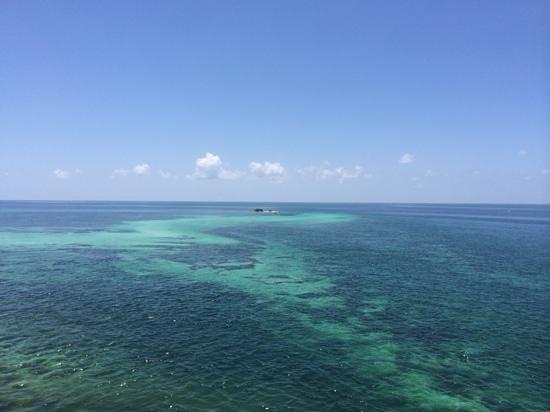 Bahia Honda State Park and Beach: look at that ocean!!