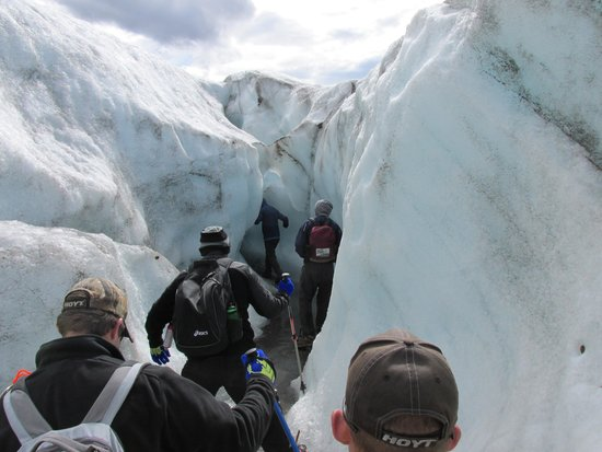 Kennicott Wilderness Guides: Hiking on the glacier