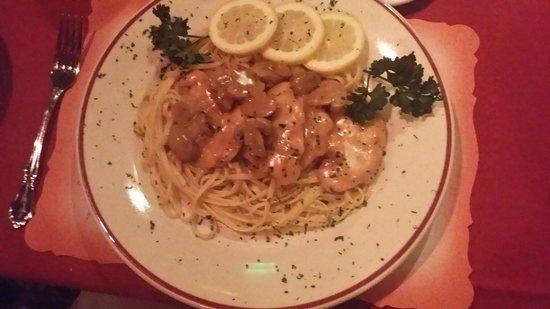 Fazio's: Chicken marsalla.