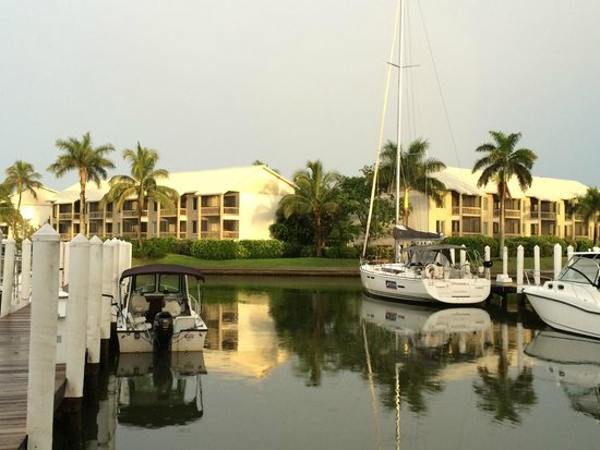 South Seas Island Resort : Blick über die Marina