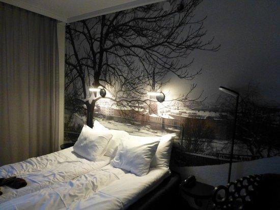 Hotel C Stockholm: Quarto - Pequeno mas aconchegante
