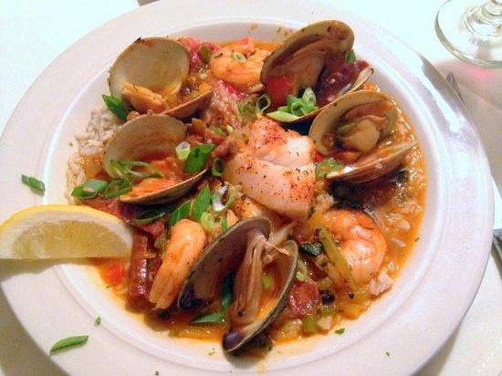 Quechee Inn At Marshland Farm: Creole Seafood Stew
