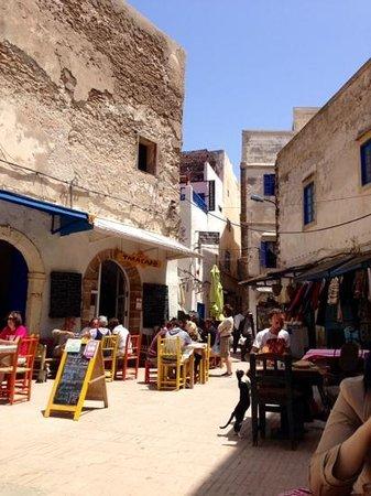 Tara Café: La piazzetta