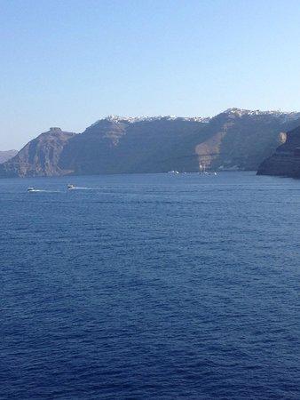 Santorini Volcano: Llegando a Santorini