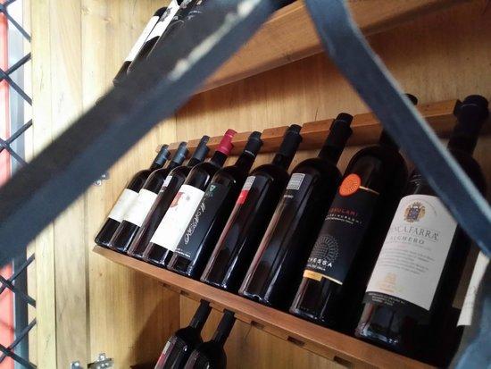 Ristorante Belvedere: vini
