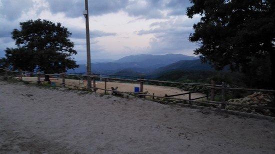 Centro Ippico La Somma: De piste en het uitzicht