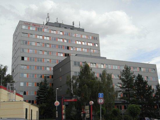 Hotel Abito von außen