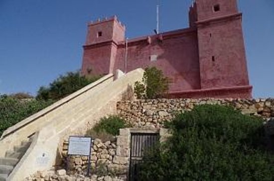 St Agatha's Tower : the red tower