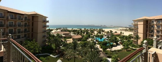 The Ritz-Carlton, Dubai: Zimmeraussicht
