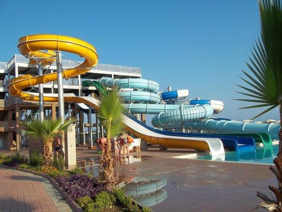 Eftalia Holiday Village: Water slides