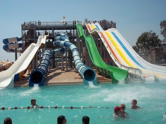 Eftalia Holiday Village: Water slides