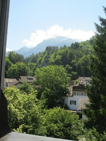 Hotel Rugenpark B&B: Breathtaking view from our room