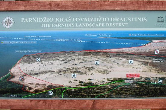 Nida Dunes : World Heritage!