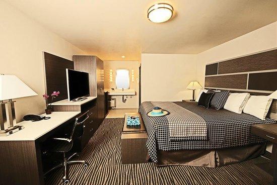 Crescent Bay Inn: King Bed no Ocean View