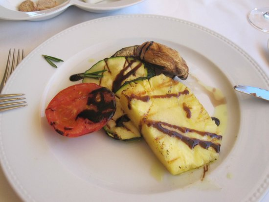 Restaurant Varanda de Lisboa: grilled vegetables