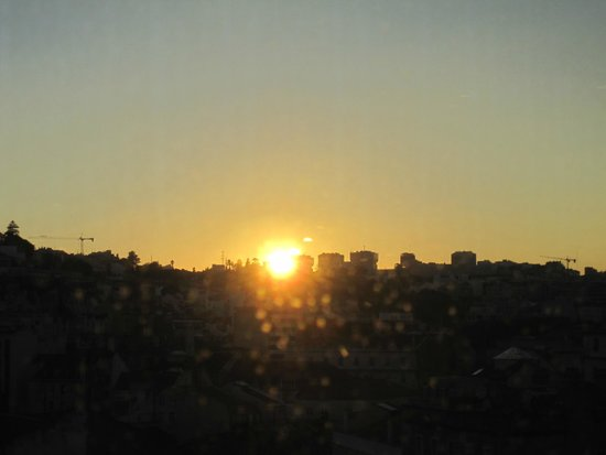 Restaurant Varanda de Lisboa: sunset