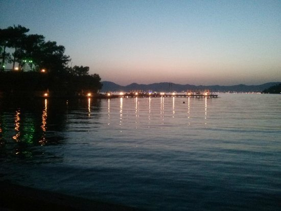 TUI SENSIMAR Marmaris Imperial Hotel: Sunset from the Harmony Bar