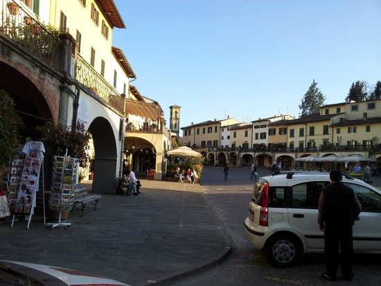 Piazza Matteotti vista da sinistra