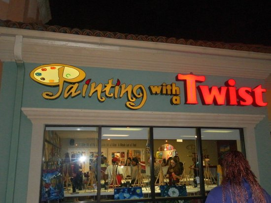 Building picture of painting with a twist houston for Painting with a twist locations near me