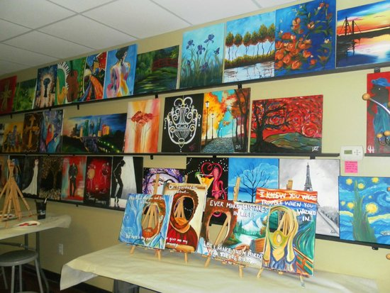 Their Gallery So Many To Choose From Picture Of Painting With A