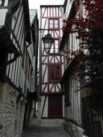 Rue Saint-Romain : Un vicolo laterale