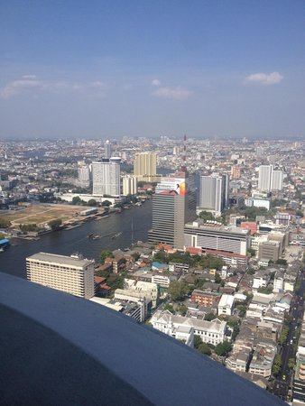 Tower Club at Lebua: View from my room!:)