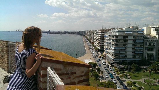 White Tower of Thessaloniki: view from the top