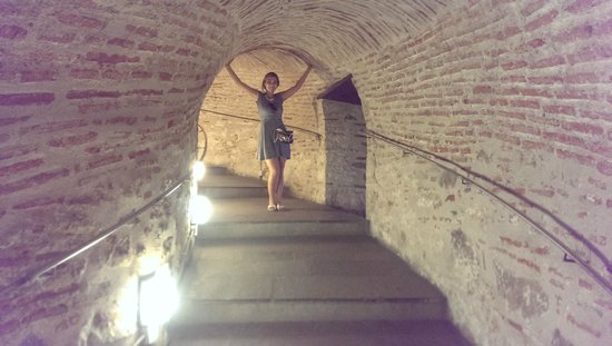 White Tower of Thessaloniki: the stairs to the top