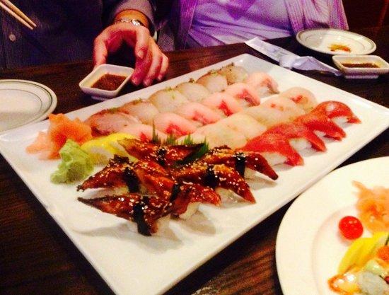 Sushi King: An Ocean Platter of Sushi! UNAGI: It's Good Eel For You!