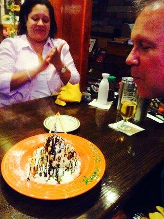 Sushi King: Happy Birthday Ice Cream Volcano!