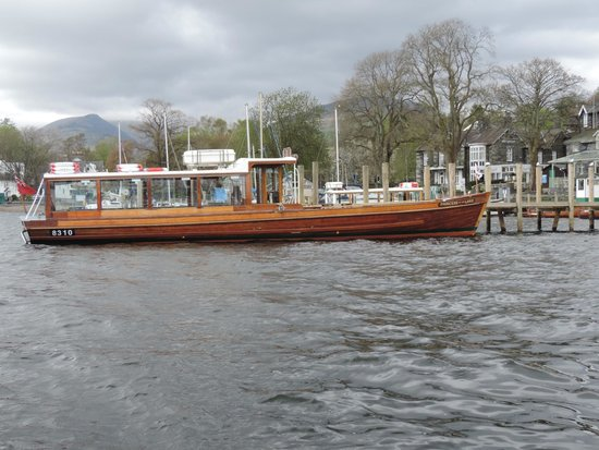 Lake Windermere: Going ashore