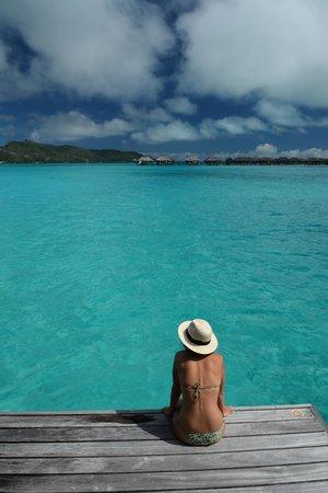 Four Seasons Resort Bora Bora: la vista dalla camera 320