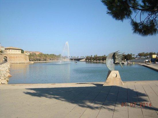 Parque del Mar: la fontana