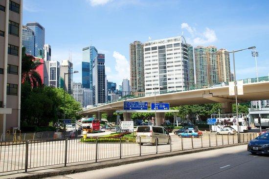 Dorsett Wanchai, Hong Kong : Окружение отеля
