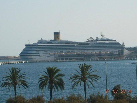 Parque del Mar: vista con porto