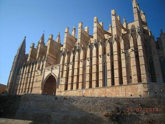 Parque del Mar : la cattedrale