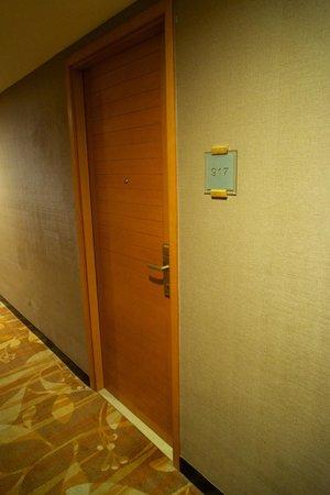 Dorsett Wanchai, Hong Kong: Дверь в номер