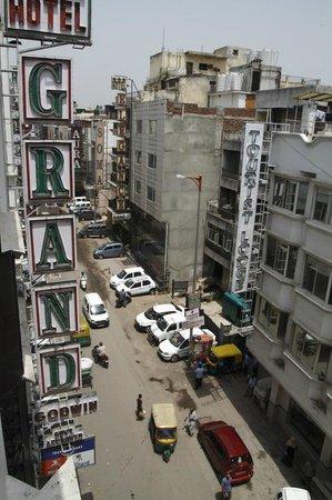 Grand Godwin Hotel: View from room, Hotel Grand Godwin, Paharganj, Delhi