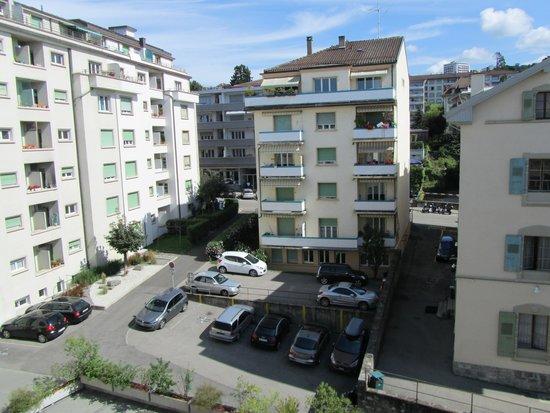 ibis Lausanne Centre: Vista desde la hab. 402