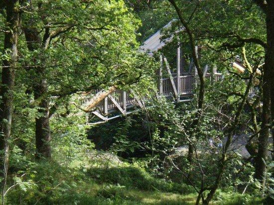Bracklinn Falls Bridge and Callander Crags: 2