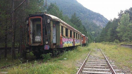 Estación Internacional de Canfranc: Wagon postal