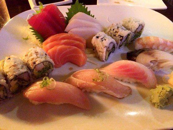 Osaka Seafood Steakhouse: Sushi and sashimi dinner