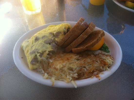 The Greenhouse Cafe: Copenhagen breakfast omelette