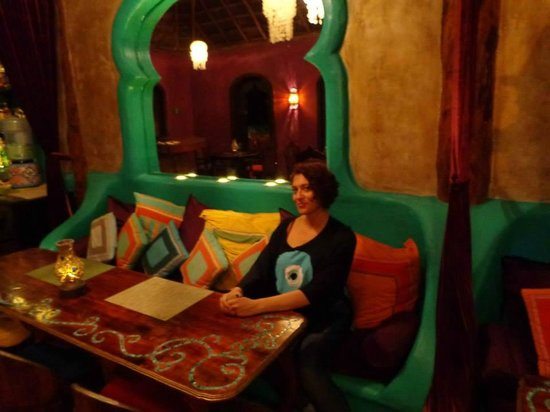 Restaurante Las Estrellas: It really looked like something out of a movie here!