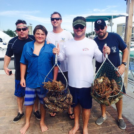 Far Out Fishing Charters: Great Lobster Trip!