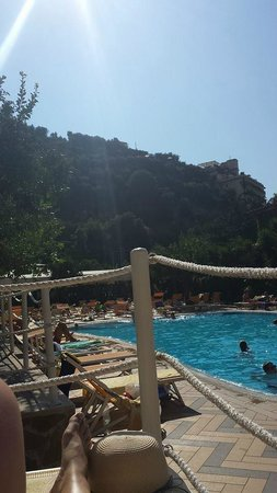 Grand Hotel Parco Del Sole: Just by the pool
