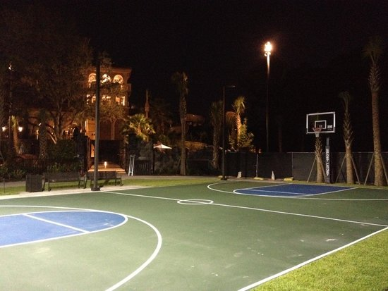 Basketball Court Picture Of Four Seasons Resort Orlando