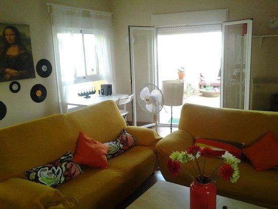 La Flamenka Hostel: La sala de TV.