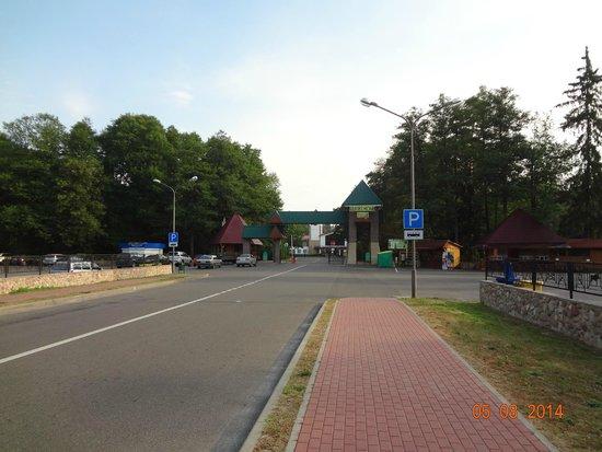 Belovezhskaya Pushcha / Bialowieza Forest: Главный вход